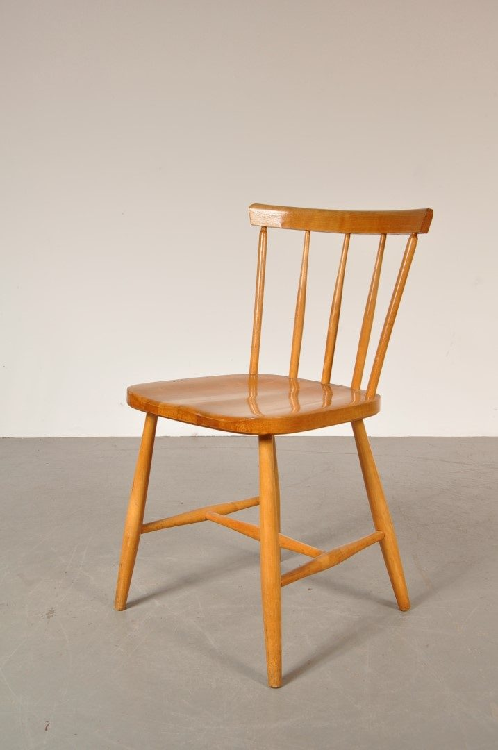 birch dining chairs 1950s birch scandinavian dining chair de vreugde design 1660