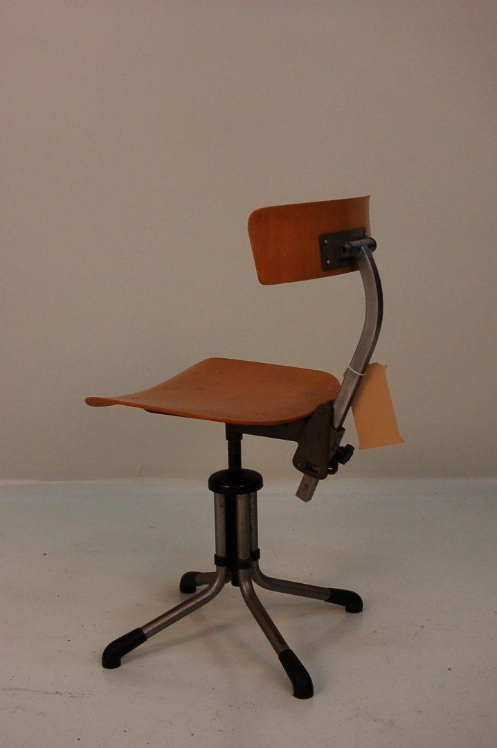 1950s Industrial Office Chair De Vreugde Design