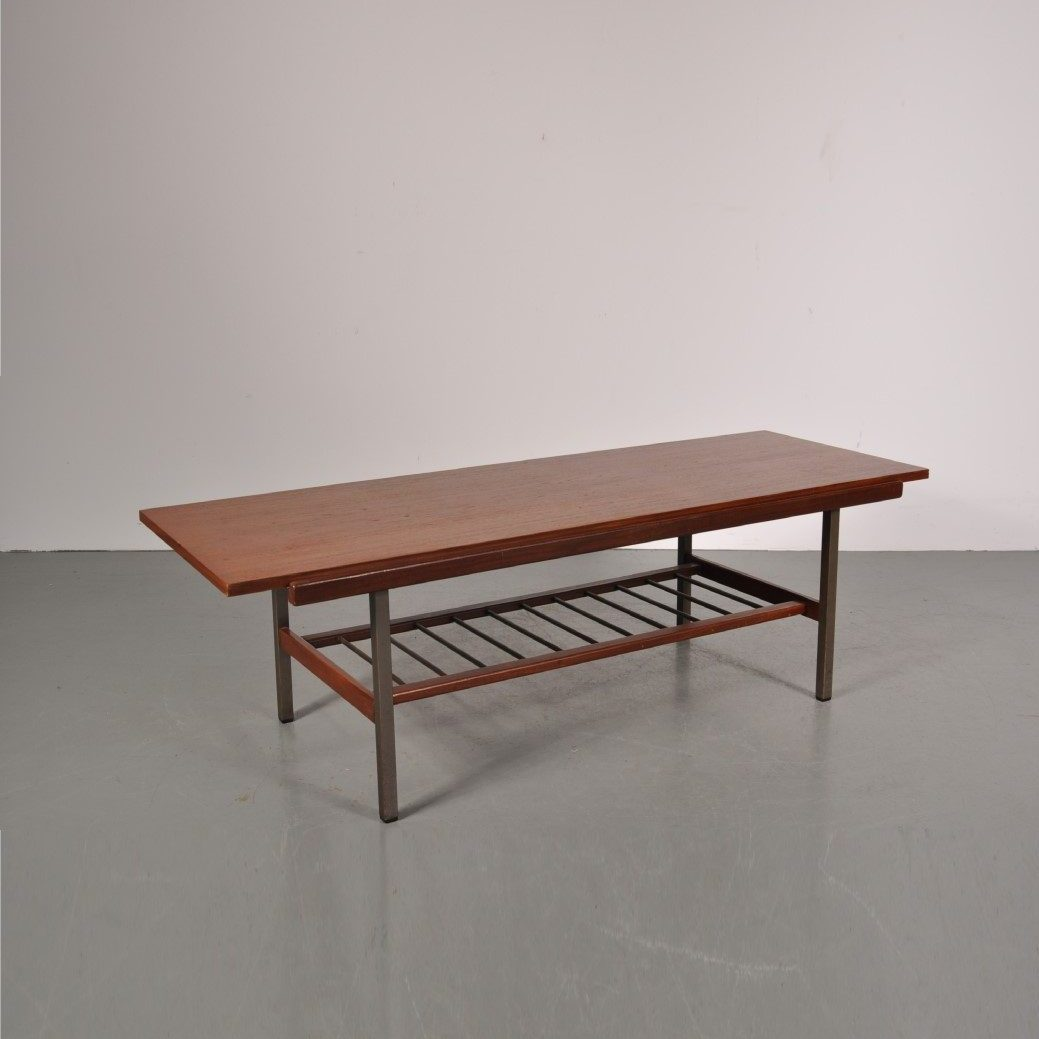 1960s Reversable coffee table Produced by Topform in the Netherlands