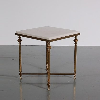 1960s Brass side table