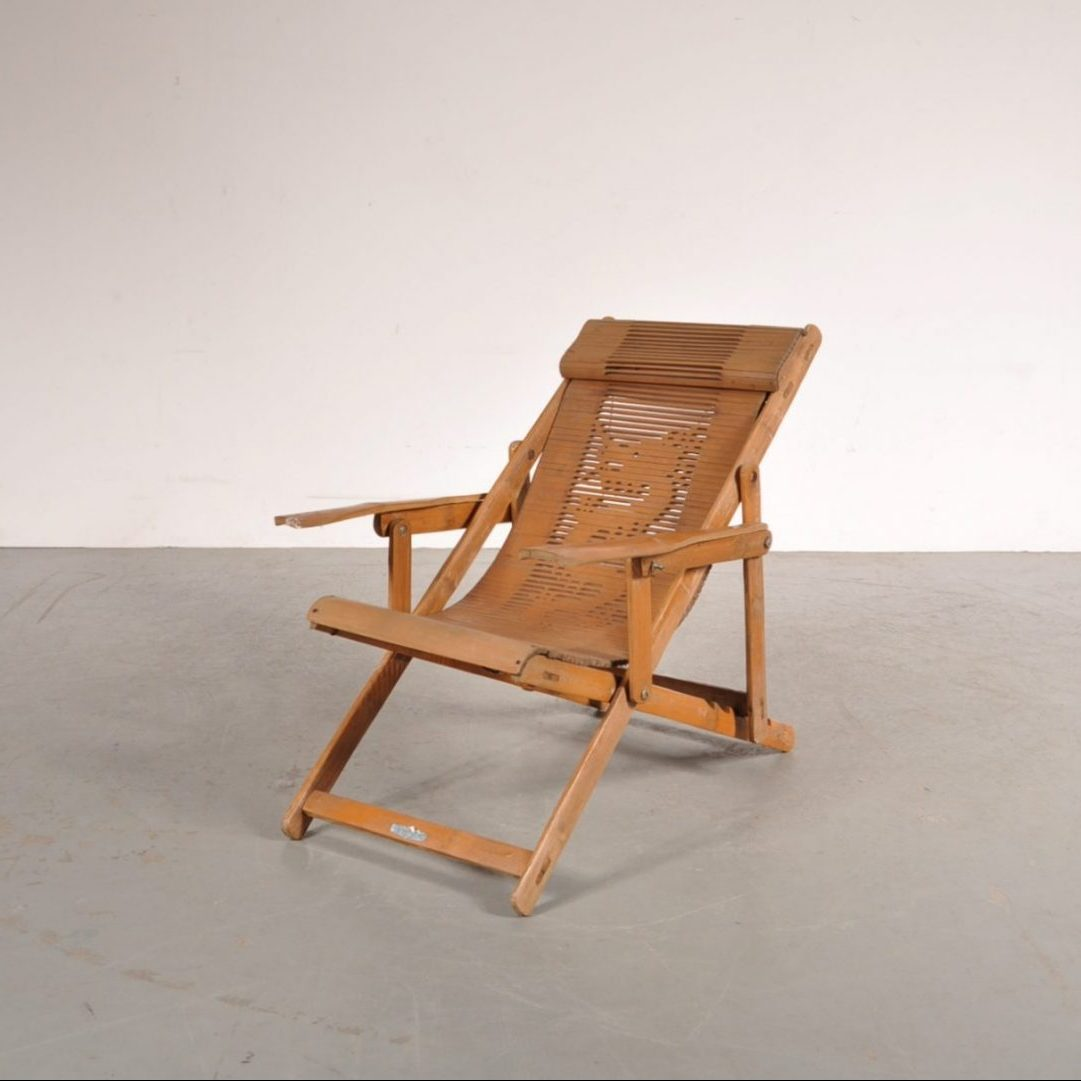 1950's Lovely foldable bamboo children chair
