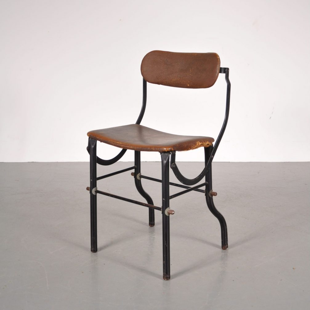 Industrial working stool Produced by TAN-SAD in the United Kingdom