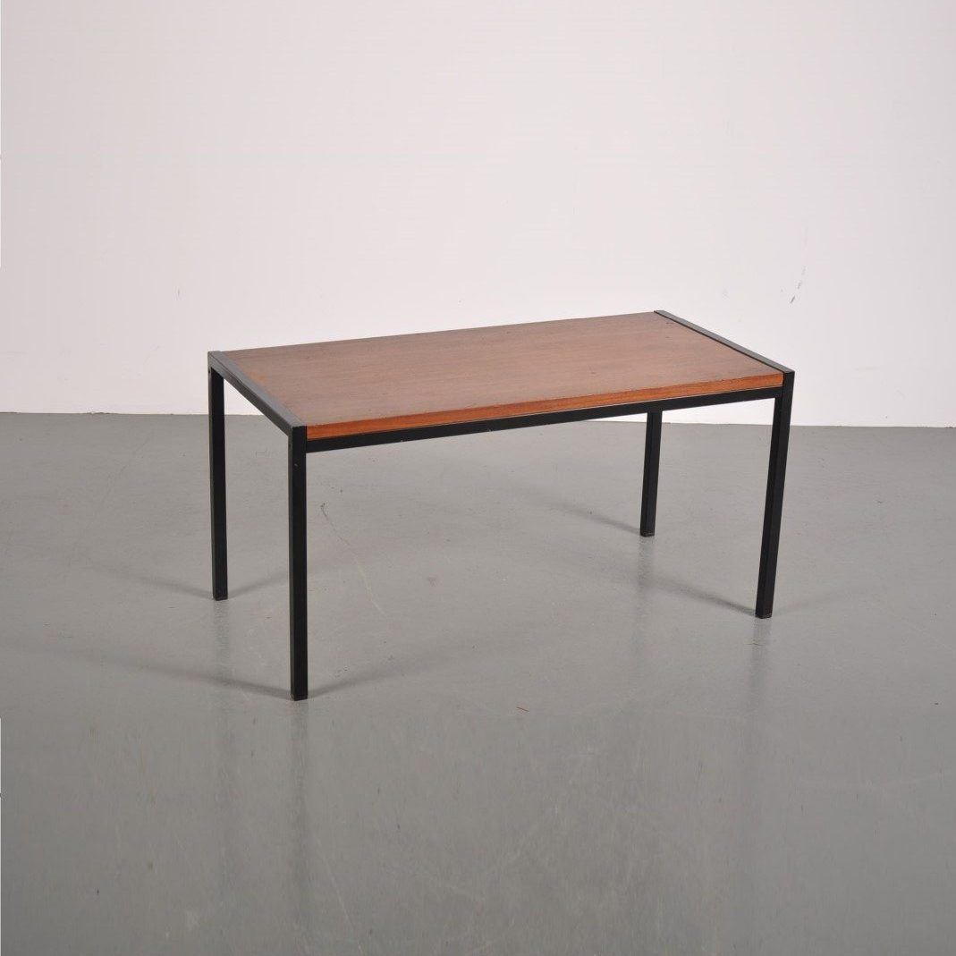 1950s Japanese series side table designed by Cees Braakman for Pastoe, Netherlands