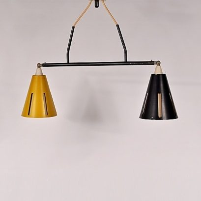 Very nice hanging lamp by Busquet for Hala Netherlands