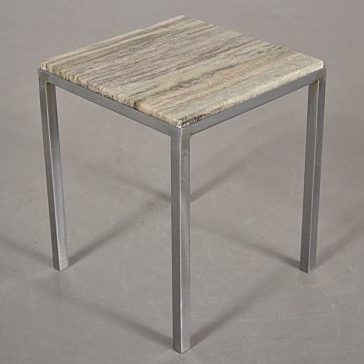 1960s Small marble side table
