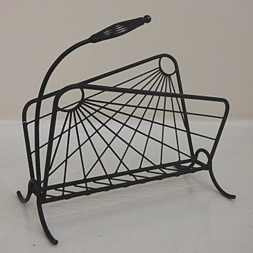 1950s French magazine rack