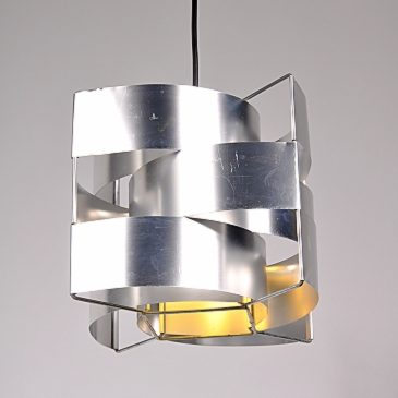 1950s hanging lamp by Max Sauze