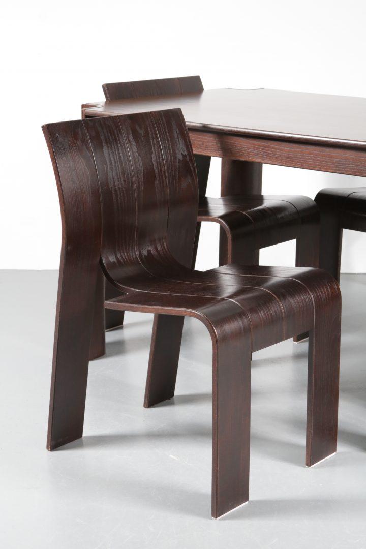 Wondrous 1970S Strip Dining Set De Vreugde Design Cjindustries Chair Design For Home Cjindustriesco