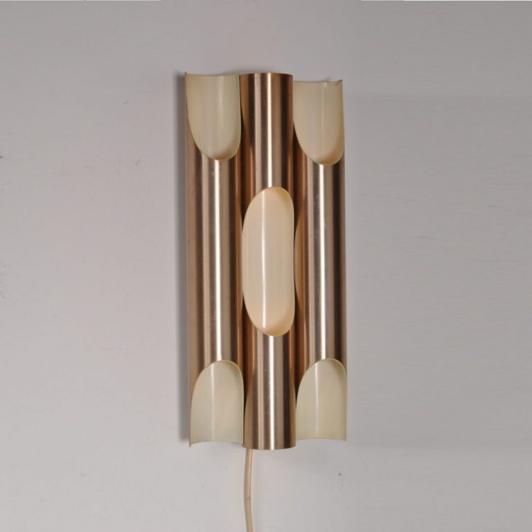1960s unique large edition fuga wall lamp Maija Lissa Komulainen Raak / NL