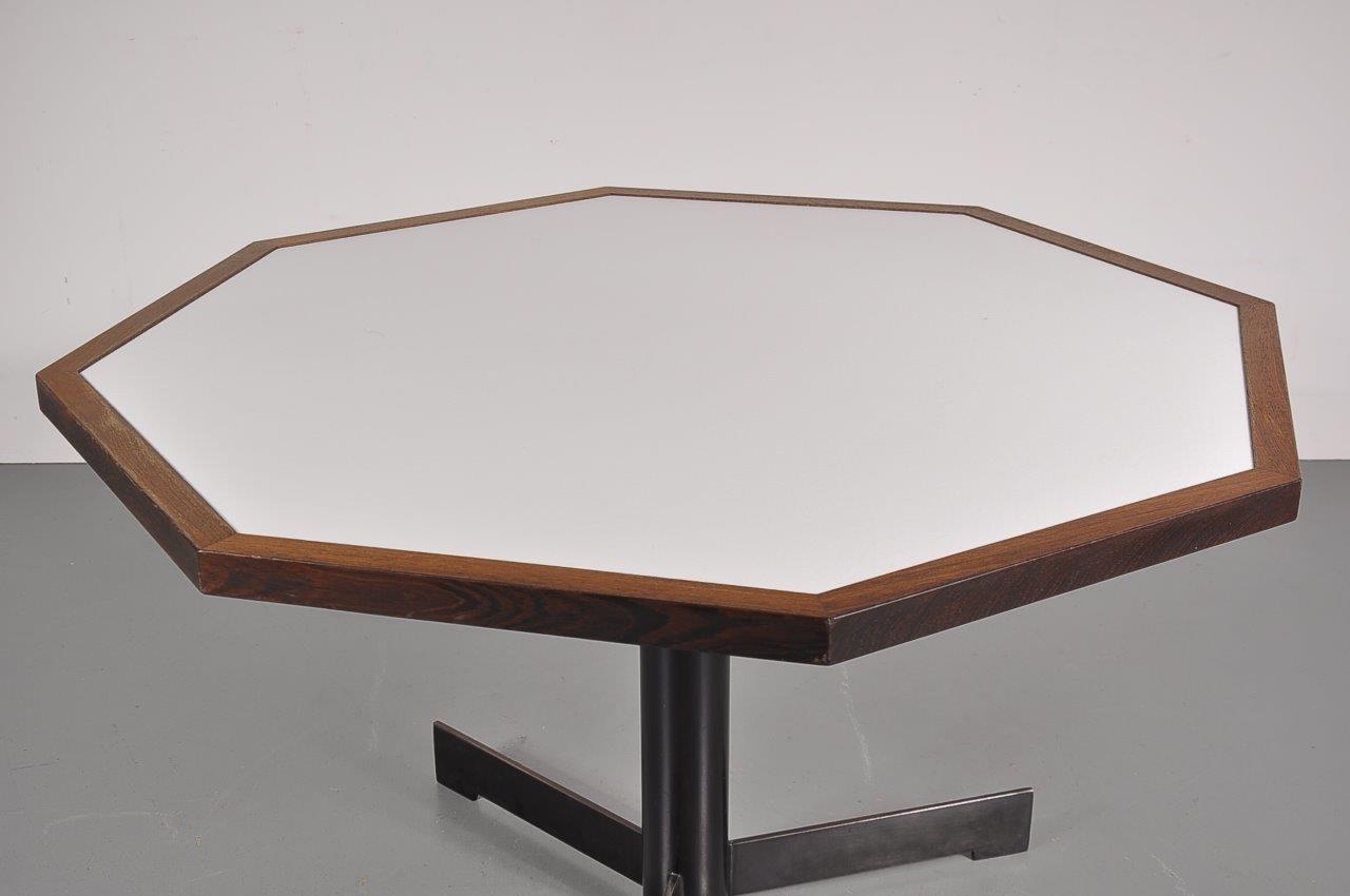 S Hexagon Dining Table De Vreugde Design - Hexagon glass dining table