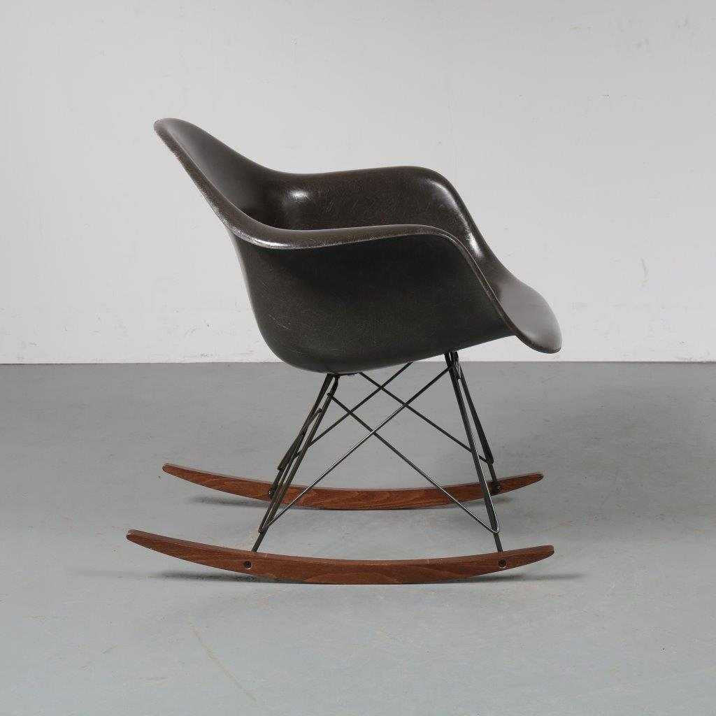 1960s Eames RAR rocking chair by Charles & Ray Eames for Herman Miller, USA