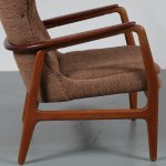 m21903 m10346 Set of Two Easy Chairs by Aksel Bender Madsen for Bovenkamp, circa 1950