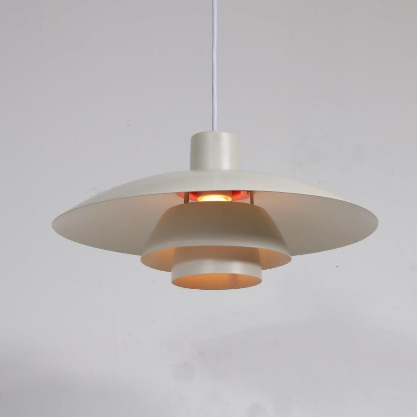 L4119 1960s Beautiful Danish hanging lamp model PH 4/3 Poul Henningsen Louis Poulsen / Denmark
