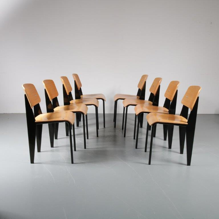 2000s Standard Chair designed by Jean Prouvé, manufactured by Vitra in Germany
