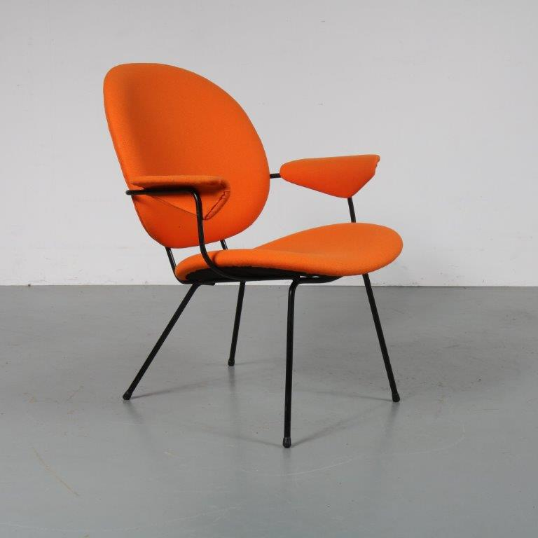 m23178 Easy Chair by Willem Hendrik Gispen for Kembo, 1950s