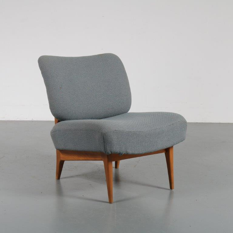 m23177 1950s Lovely styled Dutch lounge chair Theo Ruth Artifort / Netherlands