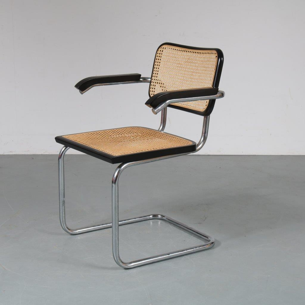 Strange 1901 3 132 1970S Cesca Dining Chair In Chrome Plated Pdpeps Interior Chair Design Pdpepsorg