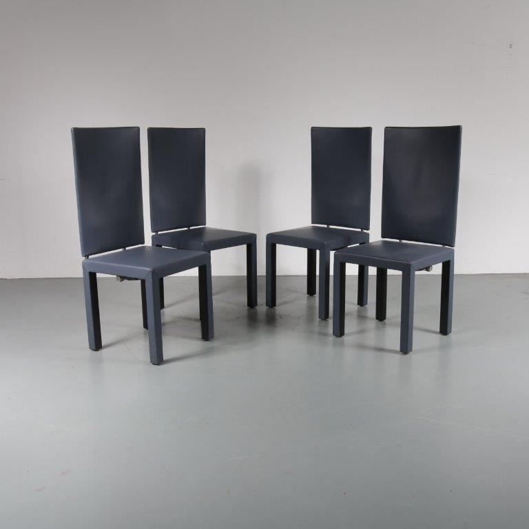 Arcara Dining Chairs by Paolo Piva for B&B Italia, 1980s EXCELLENT CONDITION