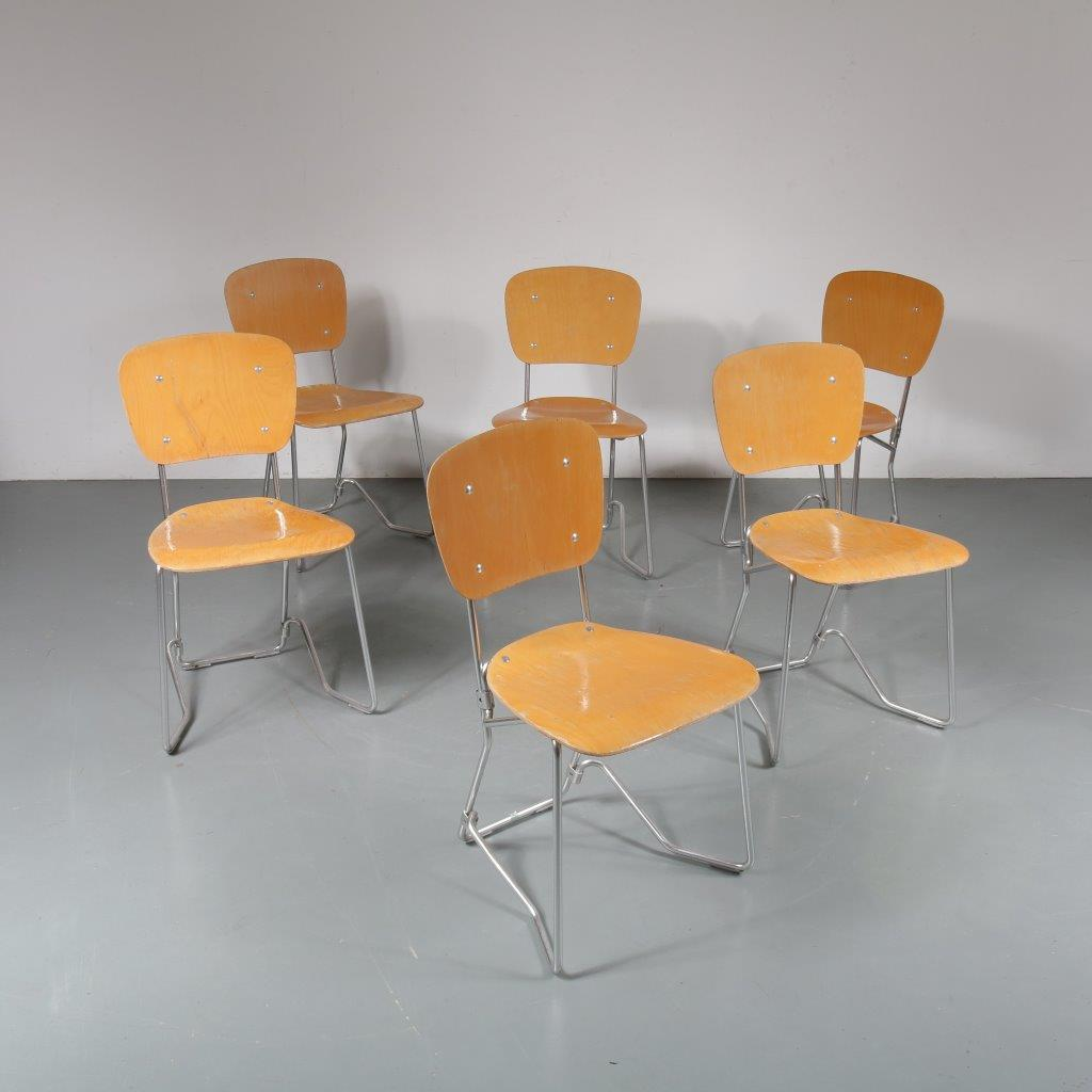 m23293 1960s Early Aluflex chair, folding model Armin Wirth Hans Zollinger Sohre / Switzerland