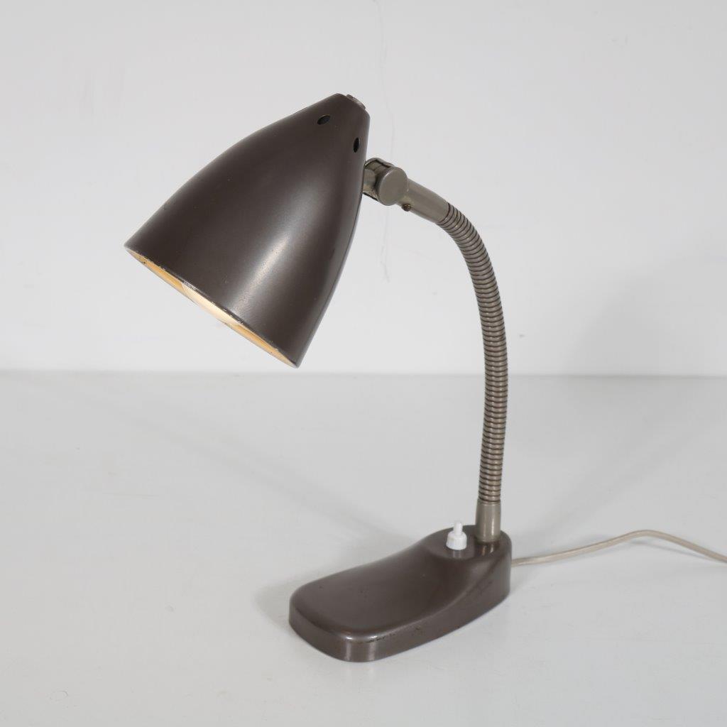 L4267 1950s Dutch desk lamp Hala Netherlands