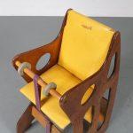 m23393 1970s Rare Wooden edition Hokus Pokus Multimobel children chair Sweden