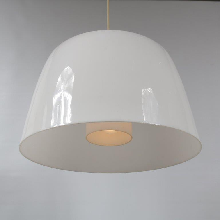 L4393 1970s Nice perspex hanging lamp Netherlands