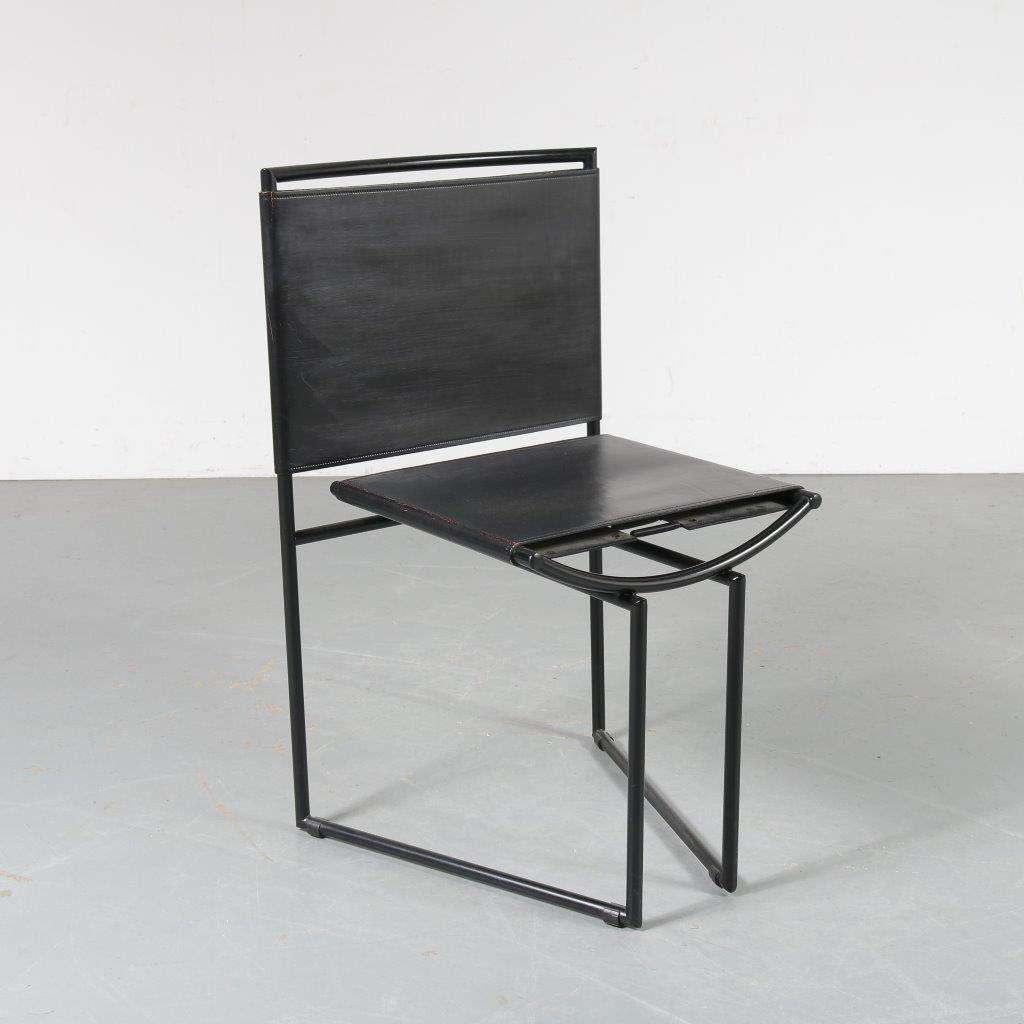 m23782 Botta chair for Alias, made for SFMOMA Mario Botta Architetto, Lugano, Switzerland