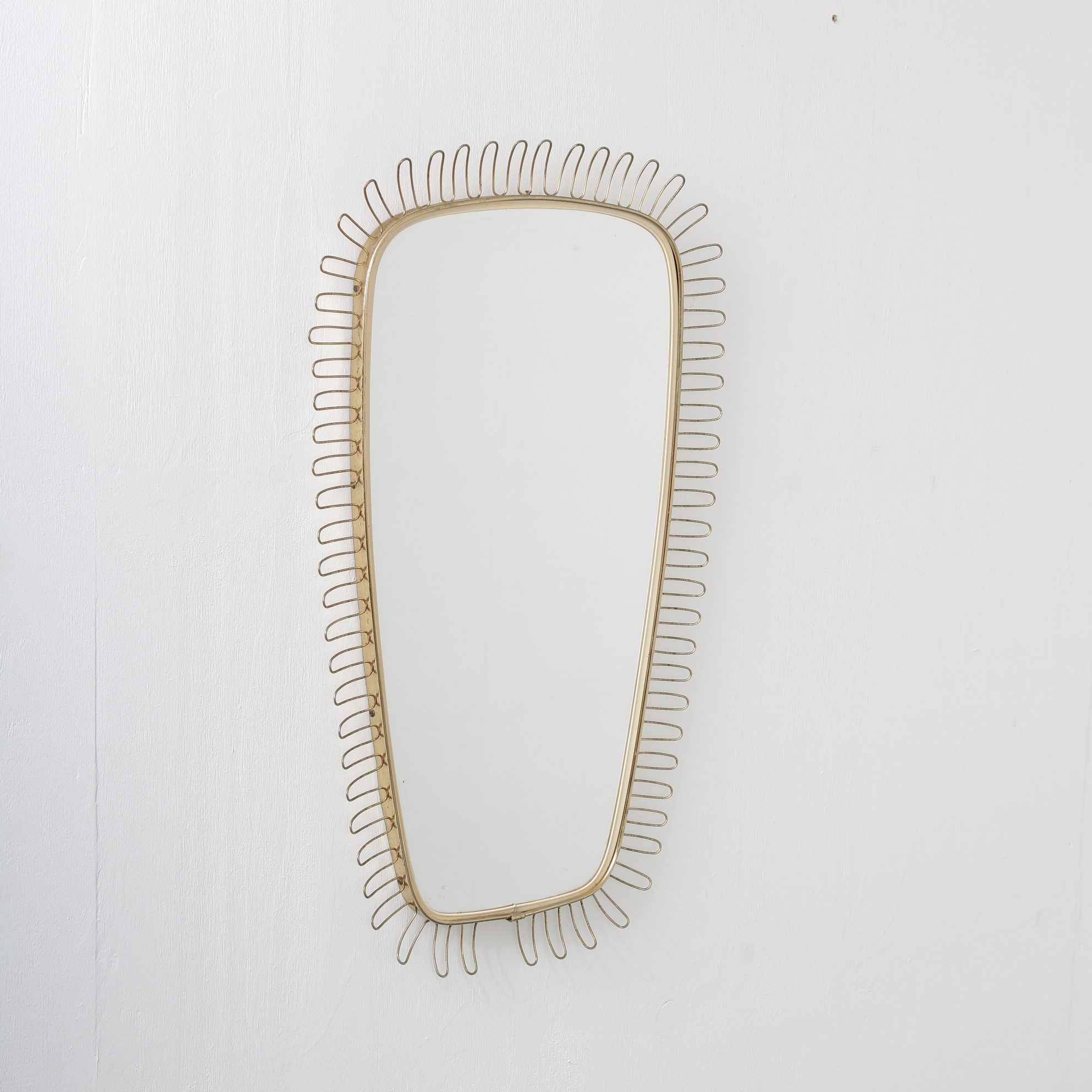 m23747 1950s Mirror attributed to Jozef Frank Sweden