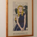 m23896 1980s Roy Lichtenstein museum poster