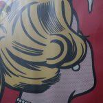 m23897 1980s Roy Lichtenstein museum poster