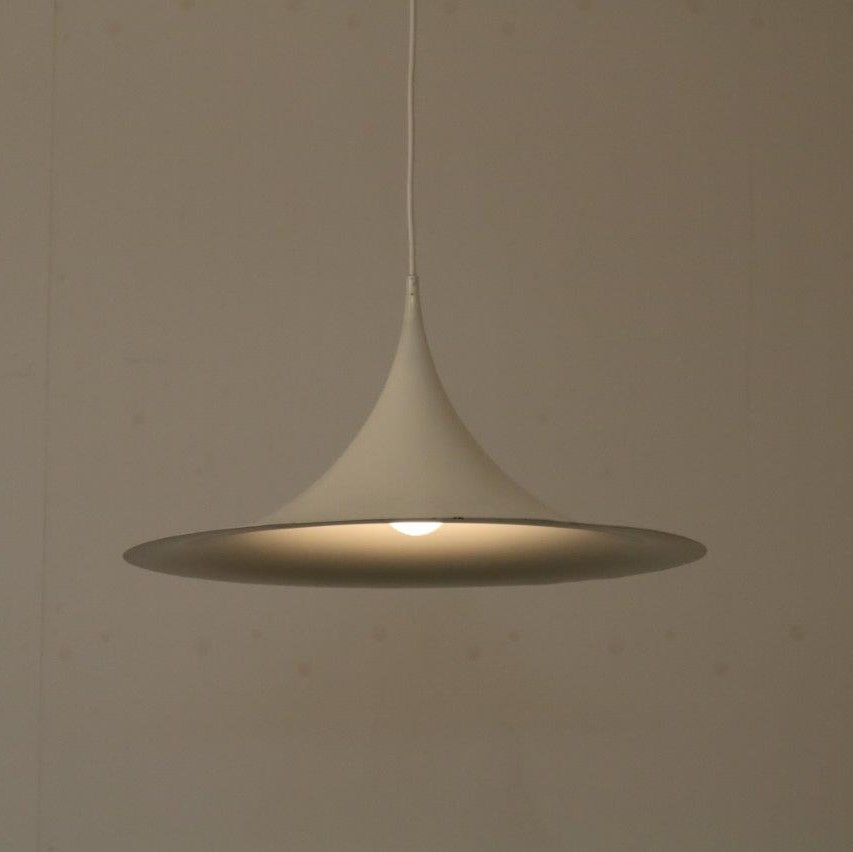 1960s Trumpet hanging lamp manufactured by Fog & Morup in Denmark