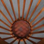 m24207 1950s Wooden umbrella stand Willem van Gelderen Spectrum / Netherlands
