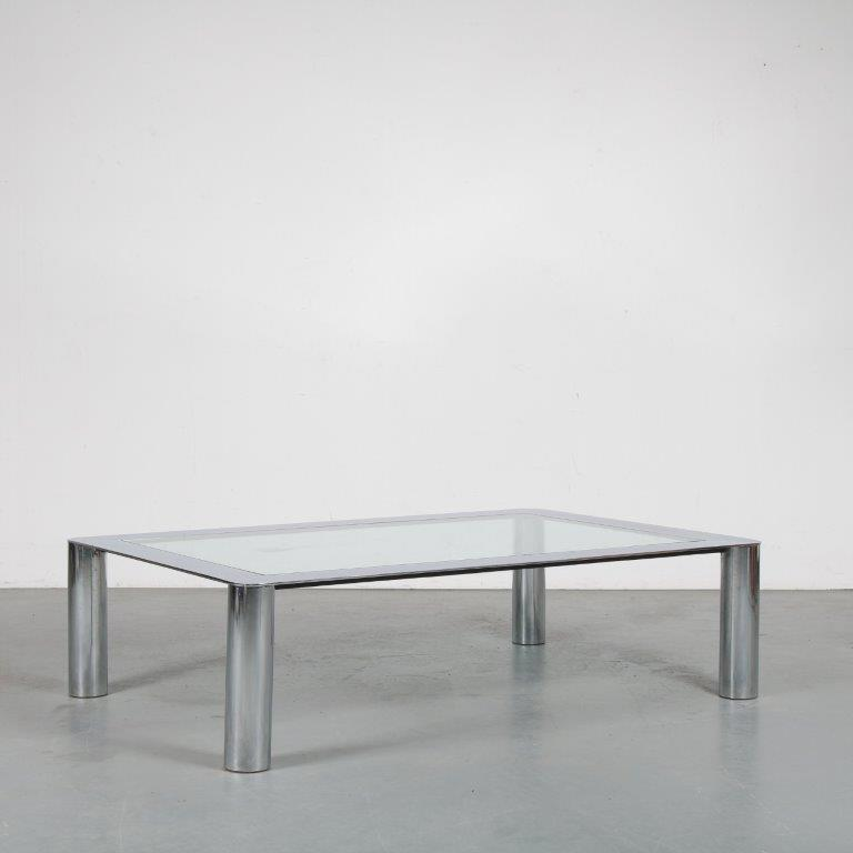 m23857b 1970s Coffee table by Mazza and Gramigna for Cinova, Italy