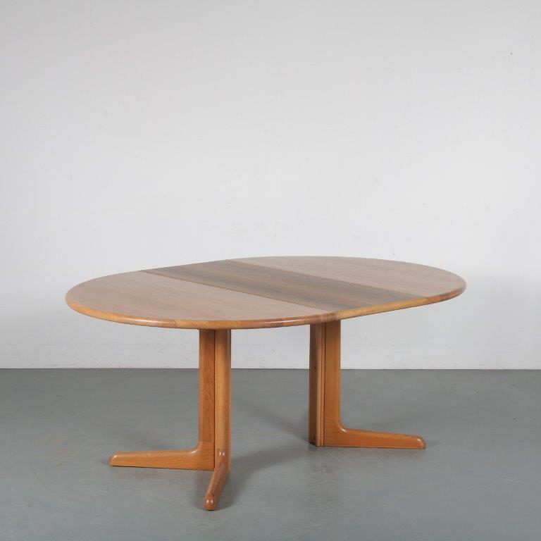m23816 1960s Extendible dining table by Moller for Gudme Mobler, Denmark