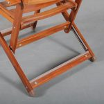 m24193 1970s Rare wooden folding chair Ico Parisi Fratelli Reguitti / Italy
