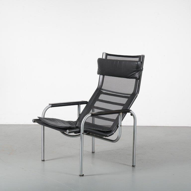 m24410 1960s luxury easy chair, Who van be placed in 3 positions Hans Eichenberger Strassle / Swiss