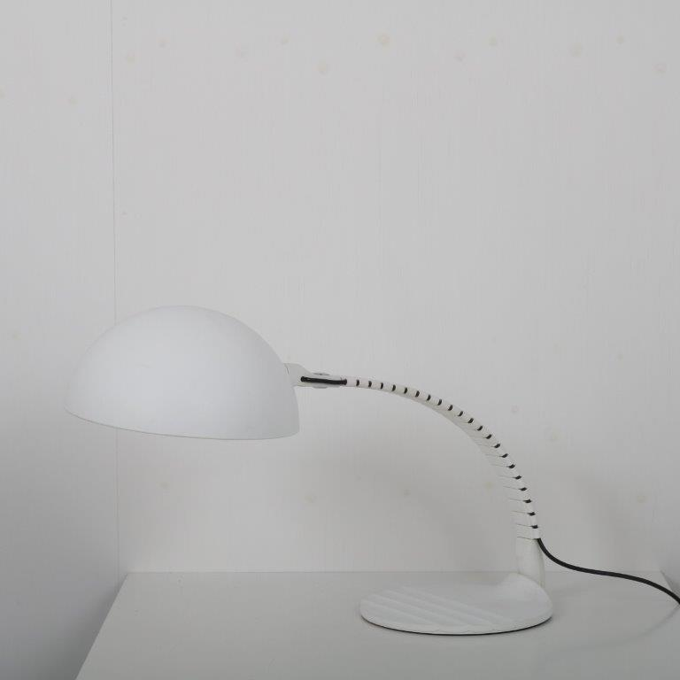 L4535 1970s snake table/desk lamp Elio Martinelli Martinelli / Italy