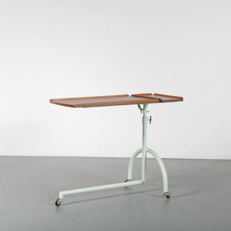 m24451 1950s Bauhaus bed table germany Germany