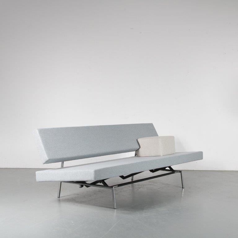 m24449 1960s 3-Seater sleeping bench by Martin Visser for Spectrum, the Netherlands