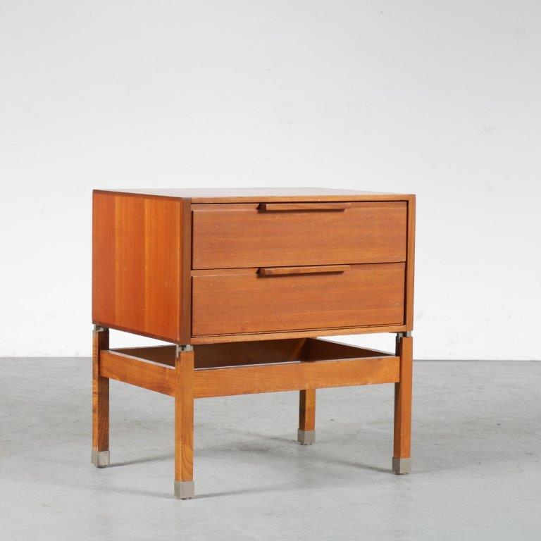 m24871 1959s Small drawer cabinet Pieter de Bruyne AL Meubel Belgium