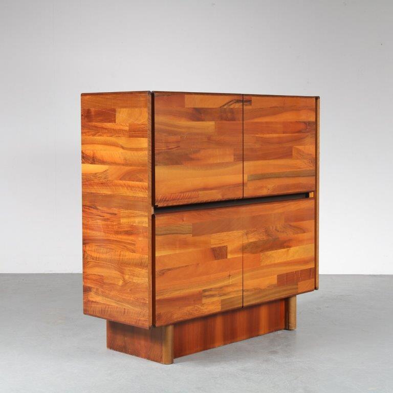 m24836 1960s Zalsupin style bar cabinet BE