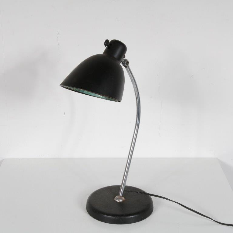 1930s Bauhaus style desk lamp by Christian Dell, Germany