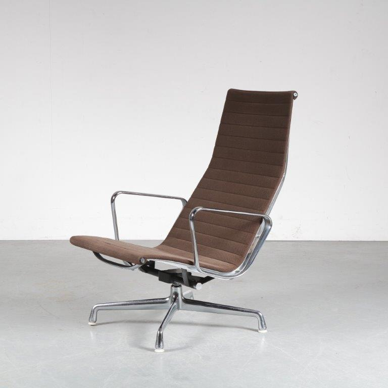 m24999 1960s EA124 Lounge chair by Charles & Ray Eames for Herman Miller, USA