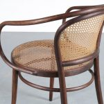 m25050 1940s Bentwooden armchair commissioned by Le Coubusier for Thonet