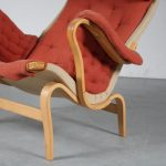 """m25242 1960s """"Pernilla"""" chair by Bruno Mathsson for Dux, Sweden"""