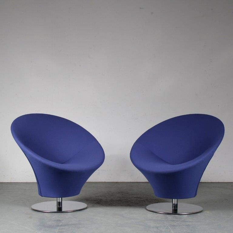 INC91 1980s Pair of lounge chair in Artifort style, Netherlands