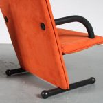 INC94 1980s Pair of T-Line chairs by Burkhard Voghterr for Arflex, Italy