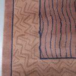 m25358 1980s Tapestry by Andrée Putman for Gerard Toulemonde, France